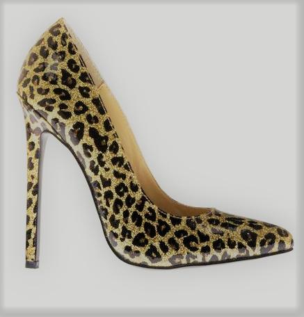 Escarpin léopard